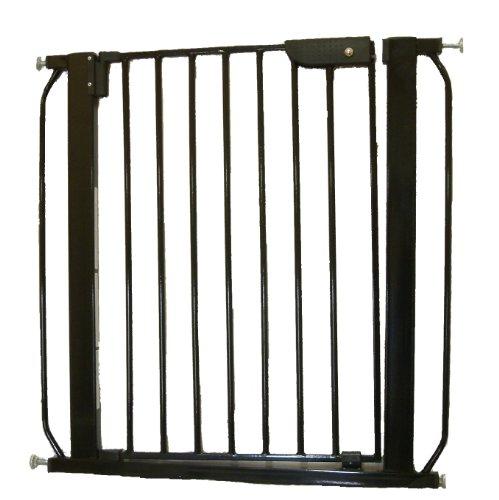 Cardinal Gates Auto-Lock Pressure Gate, 28 x 30-Inches, Blac