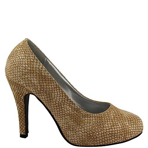 Rasalle Paris - Zapatos de vestir de Material Sintético para mujer Beige - beige
