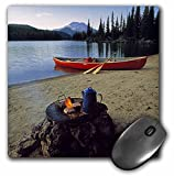 3dRose LLC 8 x 8 x 0.25 Inches Oregon, Sparks Lake, Camping Near Bend Ric Ergenbright, Mouse Pad (Mp_94002_1)