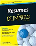 img - for Resumes For Dummies by Laura DeCarlo (2015-08-26) book / textbook / text book
