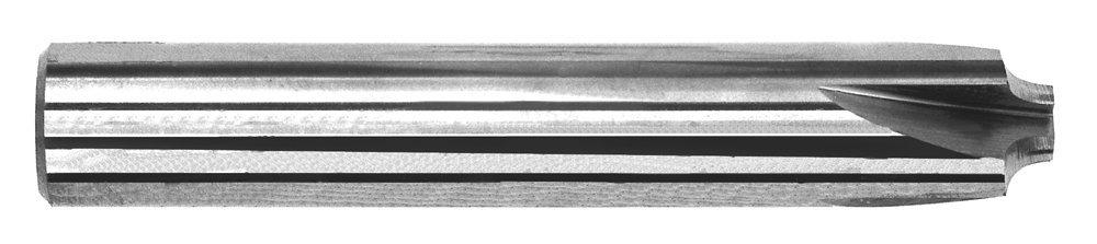 Uncoated Corner Rounding End Mills Solid Carbide Radius: 1//4 Minor Dia.: 1//2 3 Flute OAL: 4 Shank Dia.: 1