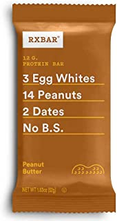 product image for RXBAR, Peanut Butter, Protein Bar, 1.83 Ounce (Pack of 12), High Protein Snack, Gluten Free