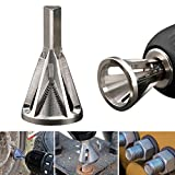 Ywillink Deburring External Chamfer Tool Stainless Steel Remove Burr Tools for Drill Bit