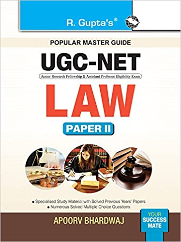 Buy UGC-NET: Law (Paper II) Exam Guide Book Online at Low