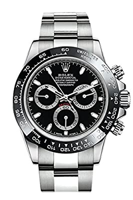 ROLEX Cosmograph Daytona Black Dial Stainless Steel Oyster Men's Watch 116500 from Rolex