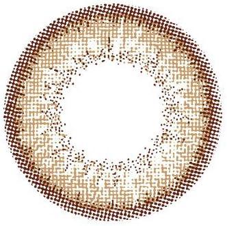 フラワーアイズ マンスリー flowereyes 1month 【1箱2枚入】 度なし 14.5mm カラコン ピアニーブラウン