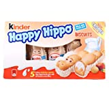 Kinder Happy Hippo Biscuits 3-PACK 3x103.5g/3x3.65oz Review and Comparison