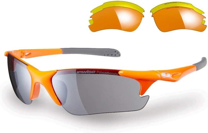 Sunwise Twister Interchangable Gafas De Sol - Naranja