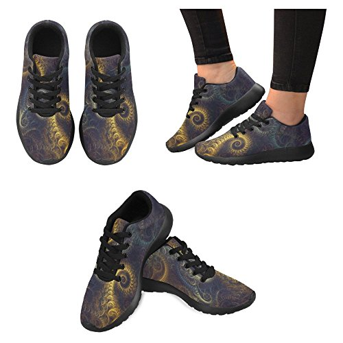 InterestPrint Womens Jogging Running Sneaker Lightweight Go Easy Walking Casual Comfort Running Shoes Multi 1 OVIeR