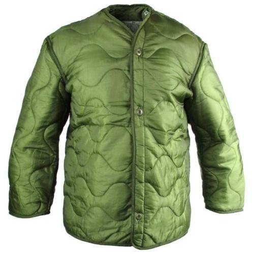 Field Jacket Liner, M-65, Olive Drab--Genuine Military Issue, Medium - (Olive Drab M-65 Field Jacket)