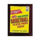 1990-91 Fleer Basketball Complete Box Set Update Updated Gary Payton Rookie Card