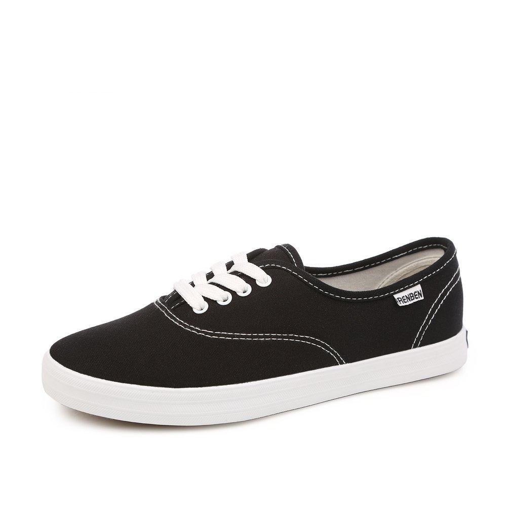 Calzado transpirable/Zapatos de enfermería/Zapatos Casual estudiante-D Longitud del pie=23.3CM(9.2Inch) vxxPeN