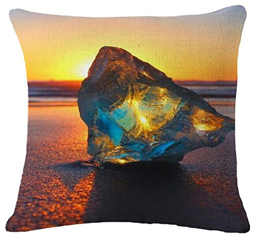 Painting Diamonds Cotton Cushion Decorative
