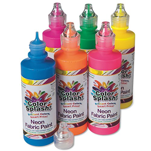 Neon Fabric Paint 4 oz. by Color Splash Paint