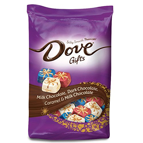 DOVE PROMISES Holiday Gifts Assorted Chocolate Candy 24-Ounce - Candy Christmas