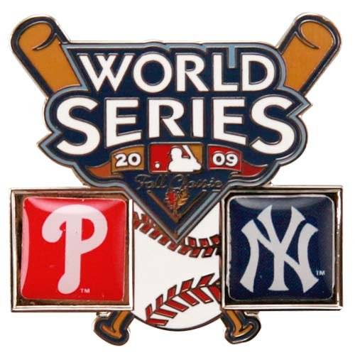 New York Yankees vs. Philadelphia Phillies 2009 World Series Collector's Pin () 2009 Yankees World Series