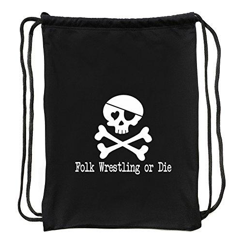 Eddany Folk Wrestling or die Sport Bag by Eddany
