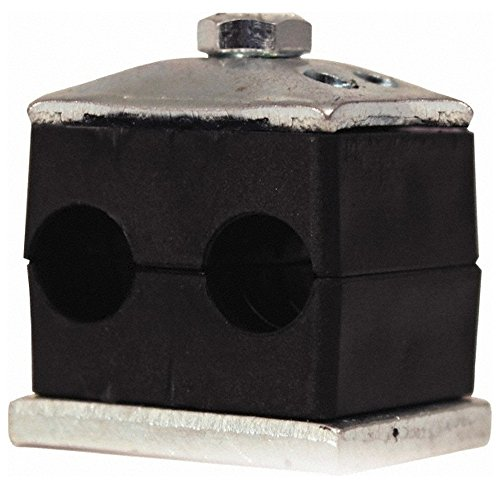 2059312, Vibration-Control Clamps For Pipe Size: 1-1/4 (Inch) Type: Twin by HYDAC