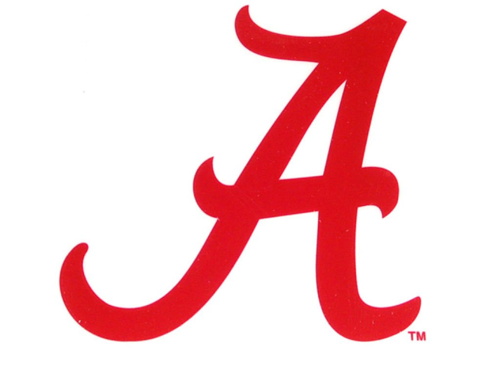 Rico NCAA Alabama Crimson Tide Small Static Decal