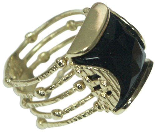 vintage-14k-gold-plated-ring-all-sizes-black-onyx-gemstone-fashion-Jewelry-size-11