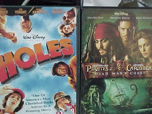 Holes , Pirates of the Caribbean Dead Man's Chest : Walt Disney 2 Pack Collection (Pirates Of The Caribbean 2 Dead Mans Chest)