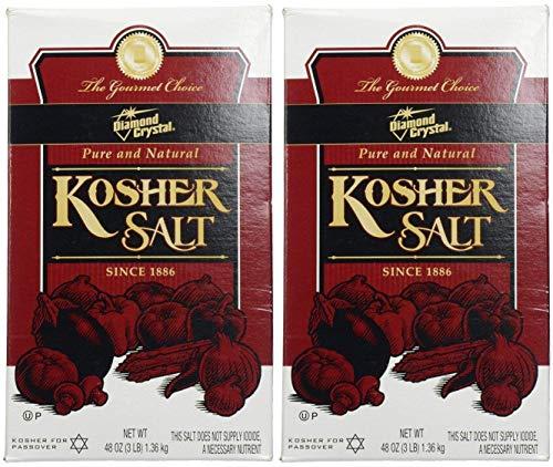 Diamond Crystal Kosher Salt, 3 lbs - Pack of 2