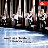 Prokofiev : String Quartets Nos. 1 & 2 / Sonata for Two Violins ~ Pavel Haas Quartet