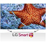 LG Electronics 47LA7400 47-Inch Cinema Screen Cinema 3D 1080p 240Hz LED-LCD HDTV with Smart TV and Four Pairs of 3D Glasses (2013 Model)