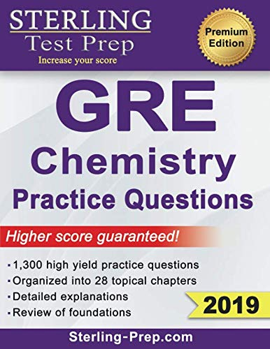 chemistry gre prep buyer's guide for 2020
