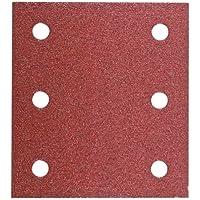 Hitachi tools - Juego papel lija 114x104 grano