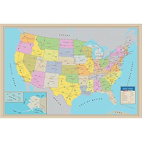 Map of United States: Amazon.com