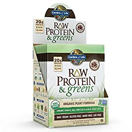 Garden-of-Life-Greens-and-Protein-Powder-Organic-Raw-Protein-and-Greens-with-ProbioticsEnzymes-Vegan-Gluten-Free