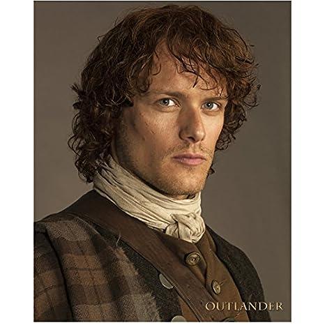 Sam Heughan as Jamie Fraser in Outlander Close Up Head Shot 8 x 10