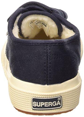 Superga Cobinvj - Zapatillas de lona para niños Azul