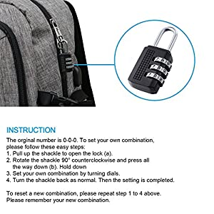 "Business Laptop Backpack, Slim Anti Theft Computer Bag, Water-resistent College School Backpack, Eco-friendly Travel Shoulder Bag w/ USB Charging Port Fits UNDER 17"" Laptop & Notebook by Mancro (Grey)"