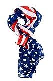 vintage american flag scarf - REINDEAR Premium American Flag Scarf 7 Styles US SELLER (Chiffon)