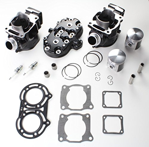 NICHE Cylinder Head Piston Gasket Top End Kit for Yamaha Banshee 350 1987-2006