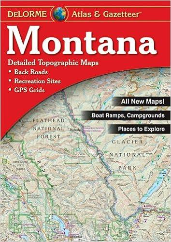 Montana Atlas & Gazetteer (Delorme Atlas & Gazetteer): Delorme, null on