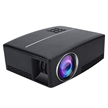 Vbestlife Mini Portátil Multimedia Home Cinema Proyector LED 4K x ...