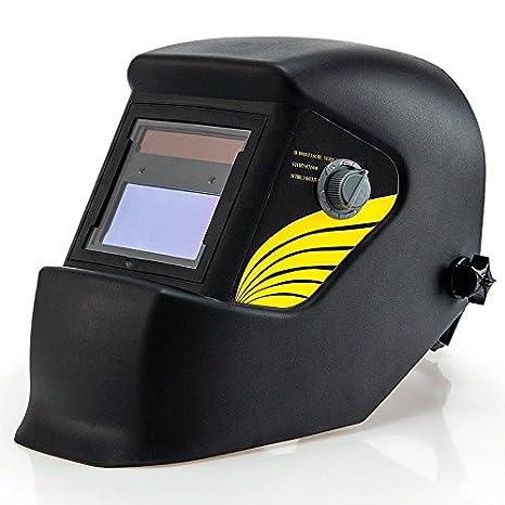 TLV 8.520 Mascara de soldar oscurecimiento automático Soldador, Negro cromado 340 x 330 x 220mm: Amazon.es: Bricolaje y herramientas