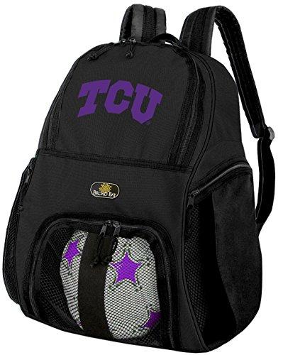 テキサスクリスチャン大学サッカーバックパックまたはTCUバレーボールバッグ