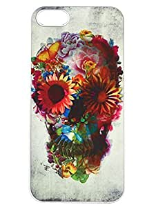 Season.C Floral Sugar Skull Hard Back Iphone 5/5S
