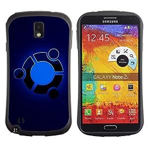 Suave TPU GEL Carcasa Funda Silicona Blando Estuche Caso de protección (para) Samsung Note 3 / CECELL Phone case / / Blue /