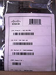 Cisco Original 1000BASE-SX SFP Module, GLC-SX-MM
