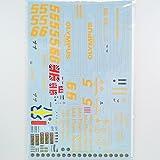 【F'artefice/エッフェアルテフィーチェ】 1/20 ロータス78 リペイントデカール(T社対応)