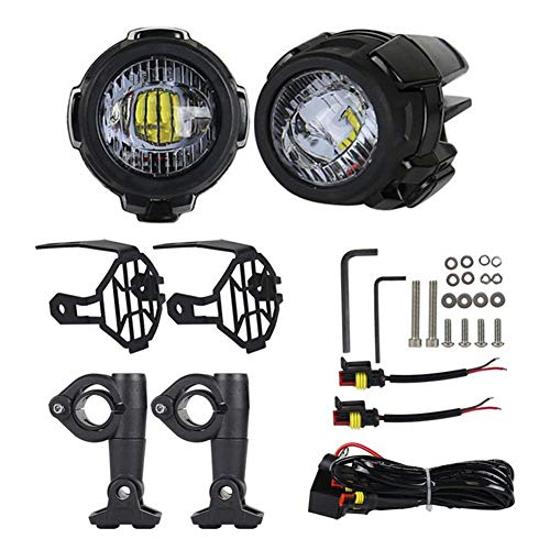 Nicemeet Motorcycle Fog Light, LED Assist Light Water for sale  Delivered anywhere in Canada