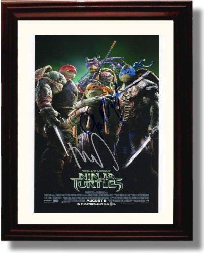 Amazon.com: Framed Cast of Teenage Mutant Ninja Turtles ...