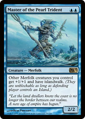 Magic: the Gathering - Master of the Pearl Trident (59) - Magic -