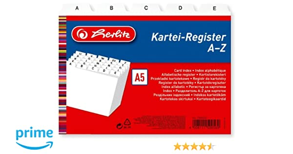 Herlitz - Índice A-Z (A5) 25ba22335384