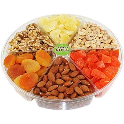 Variety Nuts Gourmet Nuts and Dried Fruits Gift Basket, Large (Japanese Food Gift Baskets)